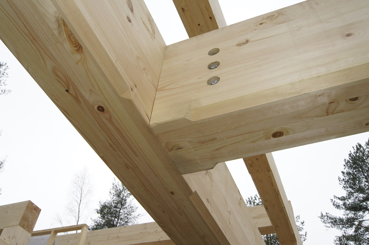 Timber frame joints – EcoHouseMart