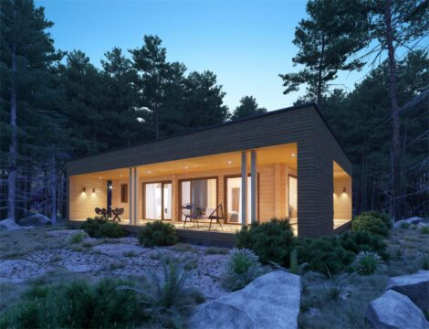 SOLID WOOD HOUSE  #CLT-104
