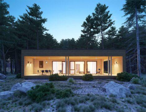 Log House #104