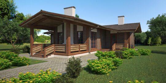 Timber frame house #012
