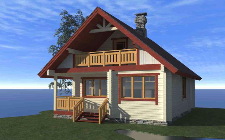 Log house #101