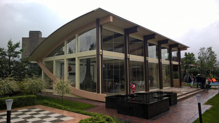 Modern arbor lounge #80