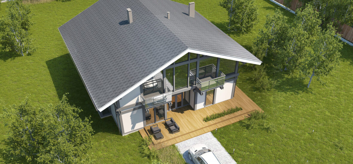 Timber Frame House 110 Ecohousemart