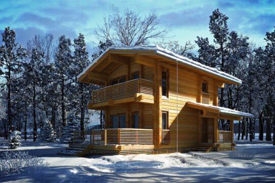 Log House #078