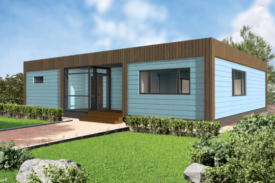 Solid Wood House #CLT-096