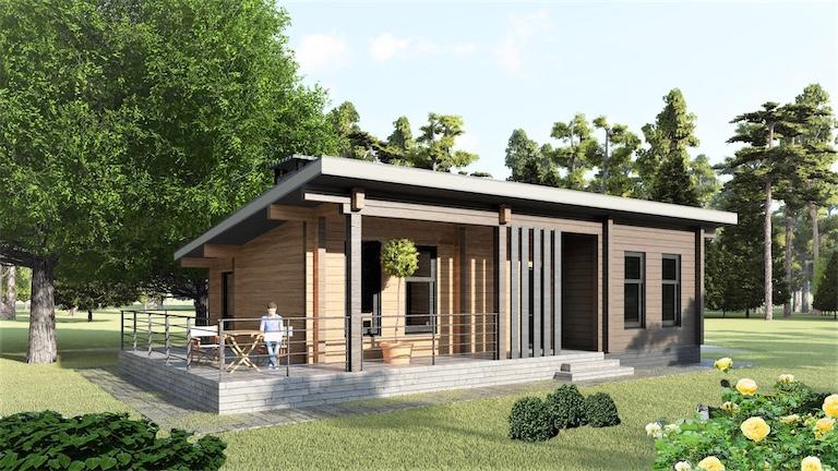 Log House #102