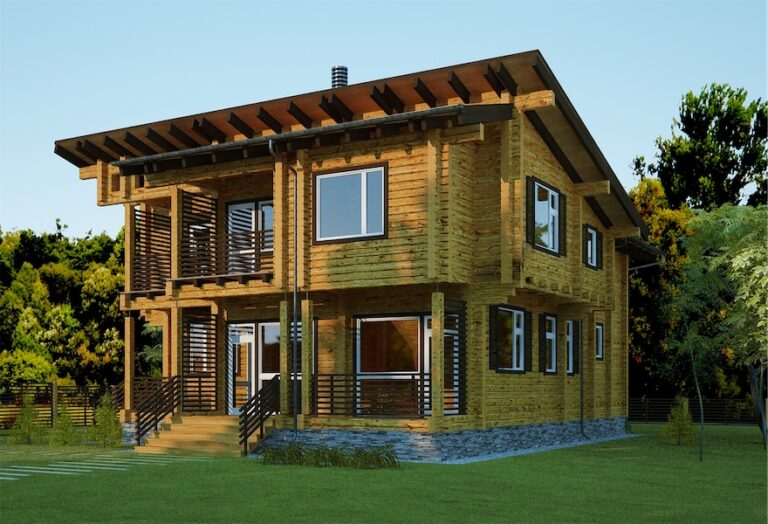 Log House # M-240