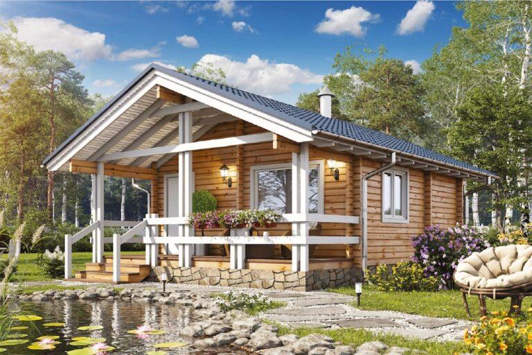 Log House #042