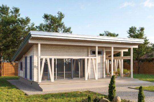 Log House #078-1