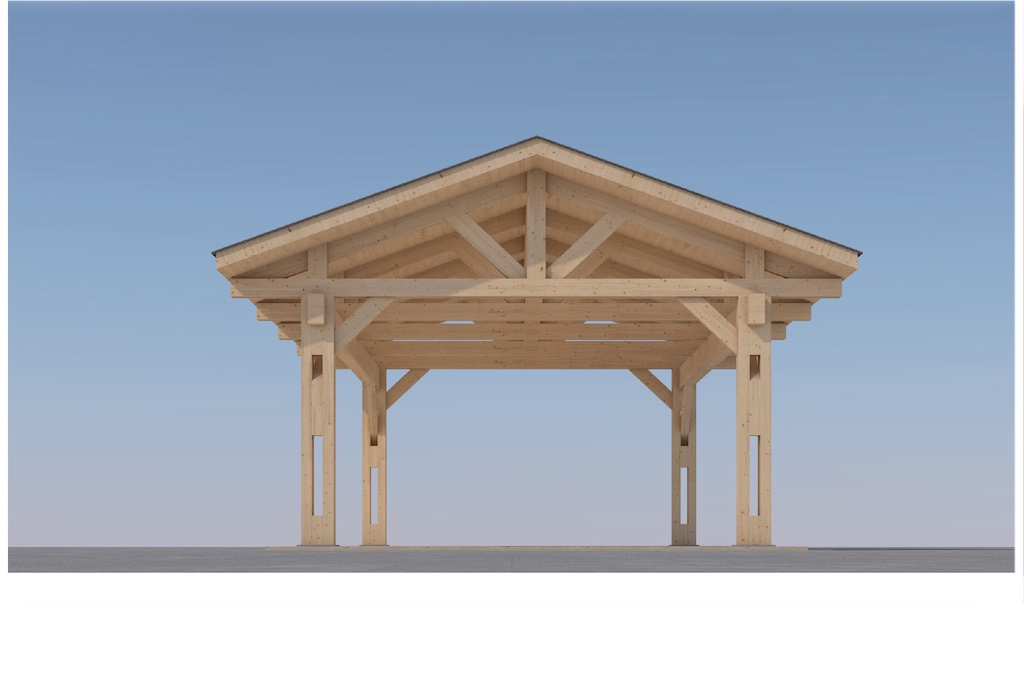 Heavy Timber Carport #NB-60