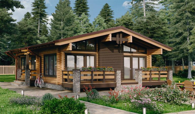 Log House #074